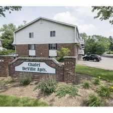 Rental info for Chalet DeVille Apartments