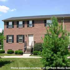 Rental info for Eagle Creek Townhomes in the Lexington-Fayette area