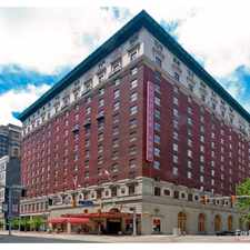 Rental info for Statler Arms Apartments in the Downtown area