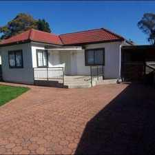 Rental info for MUST SEE ! in the Sydney area
