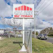 Rental info for Calare Storage in the Orange area