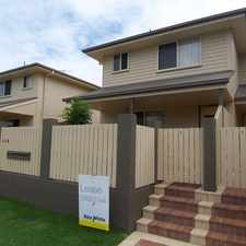 Rental info for Spacious Townhouse in the Brisbane area