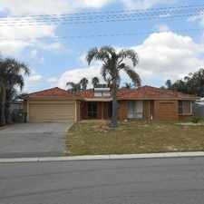 Rental info for Spacious home for rent- HOME OPEN TUESDAY 2ND OCT in the Kelmscott area