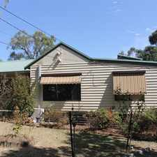 Rental info for FRESHLY PAINTED WEATHERBOARD HOME in the Mooroolbark area