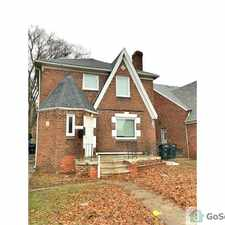 Rental info for Spacious Colonial on Appoline in the Detroit area
