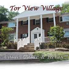 Rental info for Tor View Village
