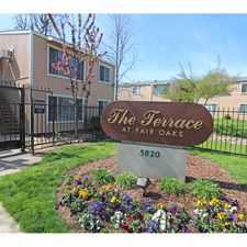 Rental info for The Terrace at Fair Oaks
