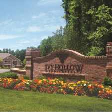 Rental info for Ivy Hollow