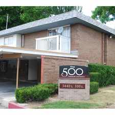 Rental info for The 500 Townhome Apartments