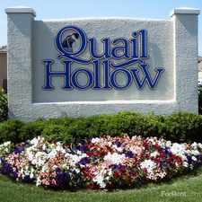 Rental info for Quail Hollow