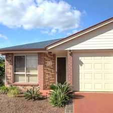 Rental info for NEAT AND TIDY BRICK DUPLEX IN NICE AREA! in the Toowoomba area