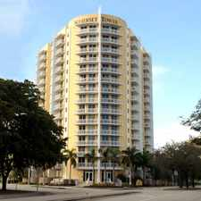Rental info for Somerset Tower in the Miami area