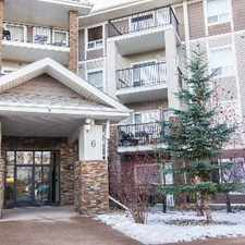 Rental info for $750 discount on 1st month! 2 BED/2 BATH CONDO in Park Place -1 pkg stall- South Terwillegar in the Ambleside area