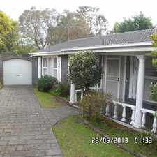 Rental info for Great family home in garden setting $310 p/w $1347 pcm in the Frankston South area