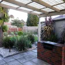 Rental info for BEAUTIFUL FAMILY HOME in the Dandenong North area