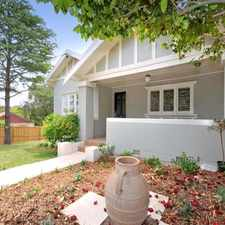 Rental info for IMMACULATE FAMILY HOME in the Sydney area