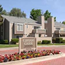 Rental info for Canyon Creek