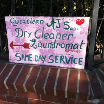 Photo of AJ's Quick Dry-Cleaner Laundromat in Midtown Palo Alto, Palo Alto