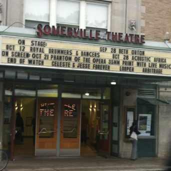 Photo of Somerville Theatre in Davis Square, Somerville