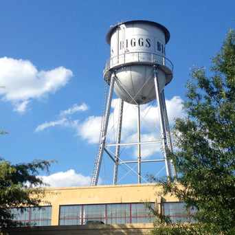 Photo of Biggs Water Tower in Carver, Richmond