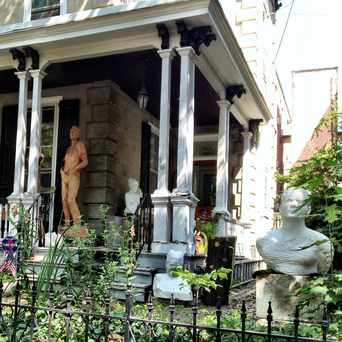 Photo of Hamilton Wood Carvings in Powelton Village, Philadelphia