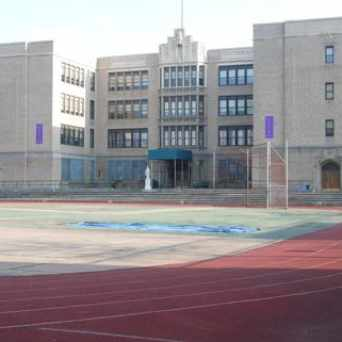 Photo of Lafayette High School in Gravesend, New York