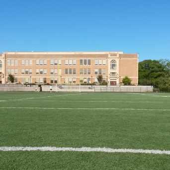 Photo of Roosevelt High School in Roosevelt, Seattle