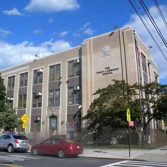 Photo of Philip J. Abinanti Elementary School in Morris Park, New York