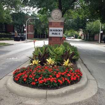 Photo of Entrance to Dearborn Park in South Loop, Chicago