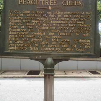 Photo of Peachtree Creek Battle in Brookwood Hills, Atlanta