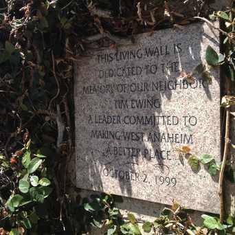 Photo of Tim Ewing Memorial Wall in West Anaheim, Anaheim
