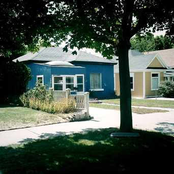 Photo of Blue House in East Central, Salt Lake City