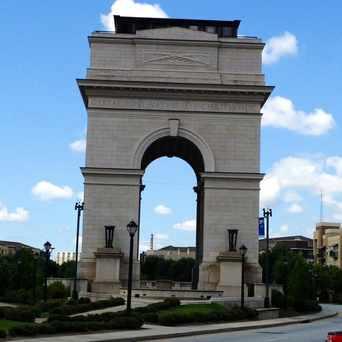 Photo of Millennium Gate in Atlantic Station, Atlanta