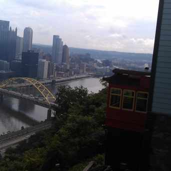 Photo of DUQUESNE INCLINE AT UPPER STATION in Duquesne Heights, Pittsburgh