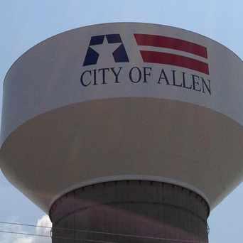 Photo of City Of Allen Water tower in Allen