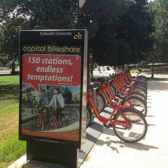 Photo of Capital Bikeshare: Gallaudet / 8th St & Florida Ave NE in Trinidad - Langston, Washington D.C.
