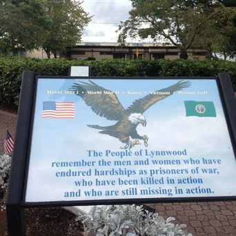 Photo of Veteran Memorial in Lynnwood