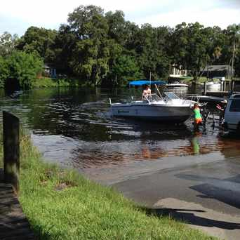Photo of Boat Ramp in Lowry Park Central, Tampa