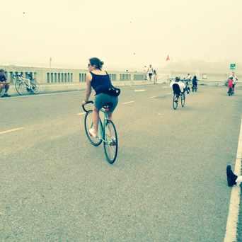 Photo of Pedestrian bridge. in Westchester-Playa Del Rey, Los Angeles