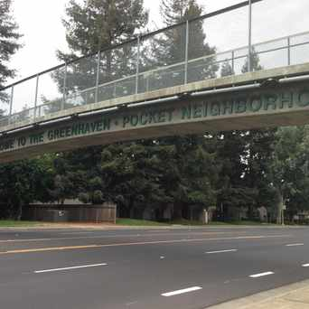 Photo of #Greenhaven Welcome Sign in Sacramento