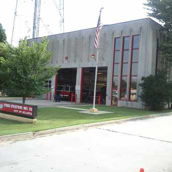 Photo of Fire Station No. 21 in Buckhead Forest, Atlanta