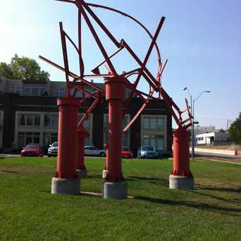 Photo of Red Sculture in Longfellow, Kansas City