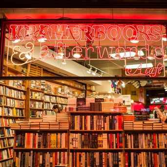 Photo of Kramerbooks & Afterwords Cafe in Dupont Circle, Washington D.C.