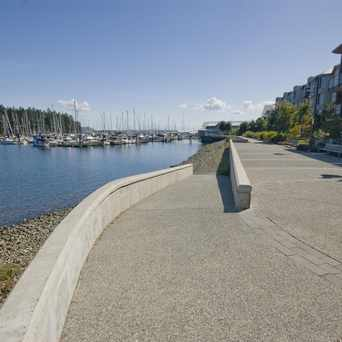 Photo of Kayak Launch on Nanaimo Harbourfront walkway in Nanaimo