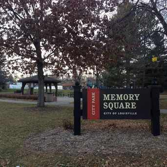 Photo of Memory Square Park in Louisville