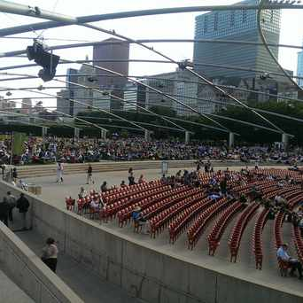 Photo of Jay Pritzker Pavilion in Chicago
