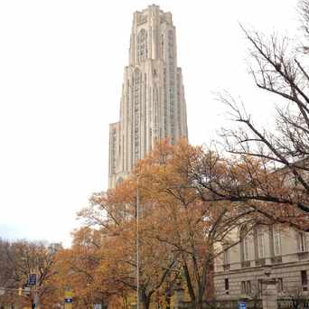 Photo of The Cathedral of Learning in North Oakland, Pittsburgh