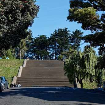 Photo of Alta Plaza Park in Pacific Heights, San Francisco