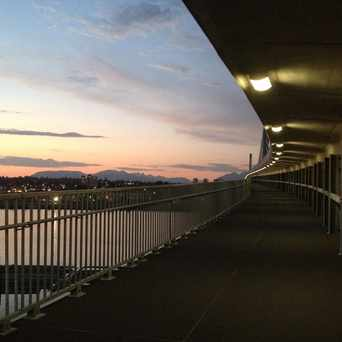 Photo of Skytrain Bike Bridge in Vancouver