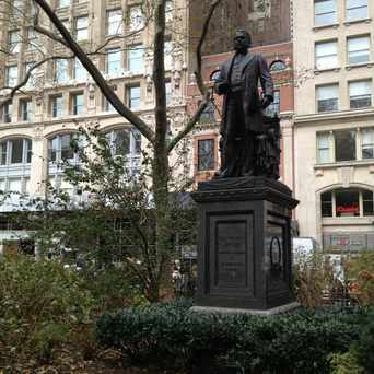 Photo of Chester Alan Arthur Statue in NoMad, New York